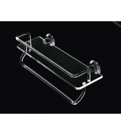 Repisa con toallero TL.Bath Luce L021/C