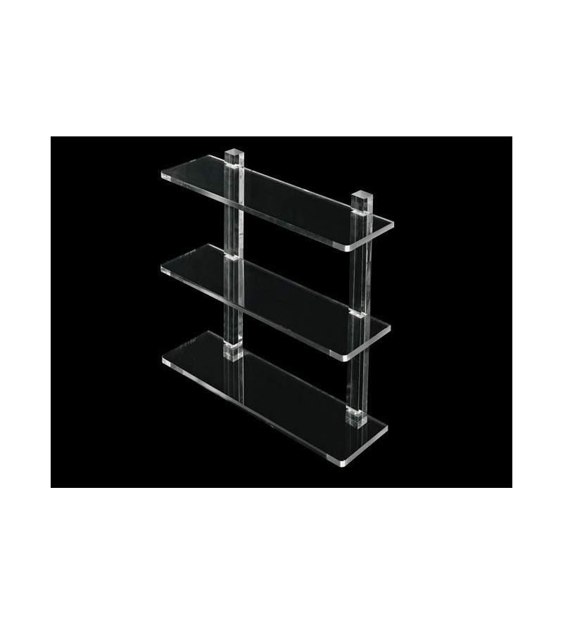 Shelf with plexiglass...