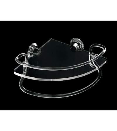 Mensola angolare con ringhiera e portasalviette TL.Bath Luce L020