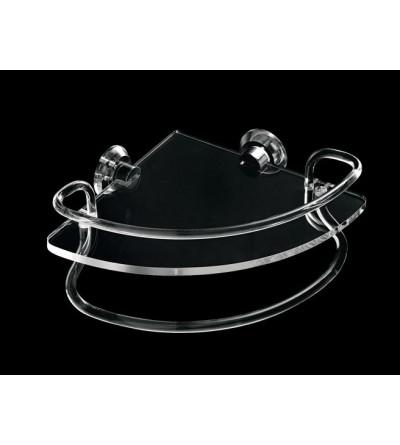 Mensola angolare con ringhiera e portasalviette TL.Bath Giglio 620