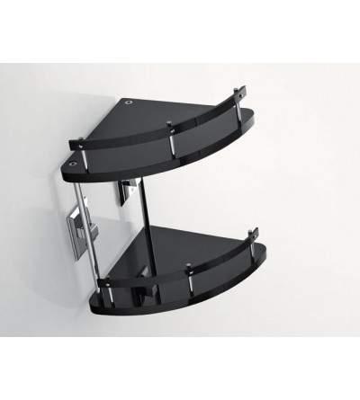 Mensola angolare due piani TL.Bath Grip G233