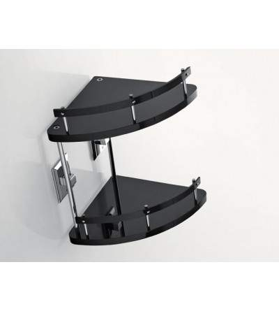 Two-tier corner shelf TL.Bath Grip G233