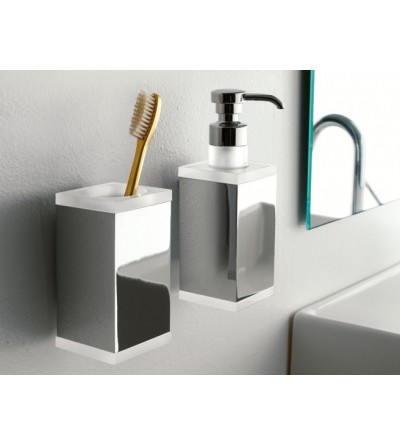 Wall-mounted toothbrush holder TL.Bath Eden 4502
