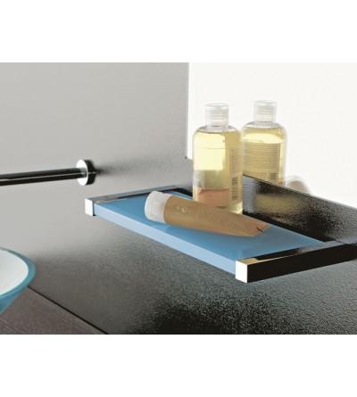 Mensola in plexiglass e ottone TL.Bath Eden 4510
