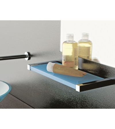 Plexiglass and brass shelf TL.Bath Eden 4510