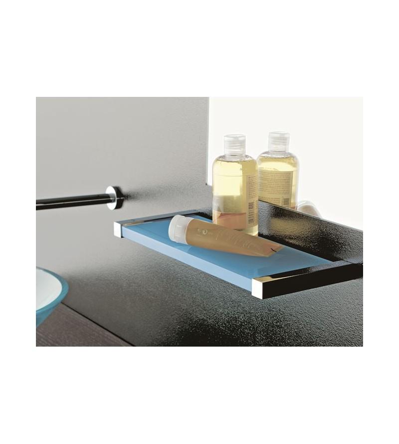 Plexiglass and brass shelf...