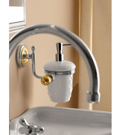 Wall mounted liquid soap dispenser TL.Bath Queen 6623-6523