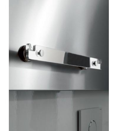 Towel holder in brass and plexiglass TL.Bath Stick K209
