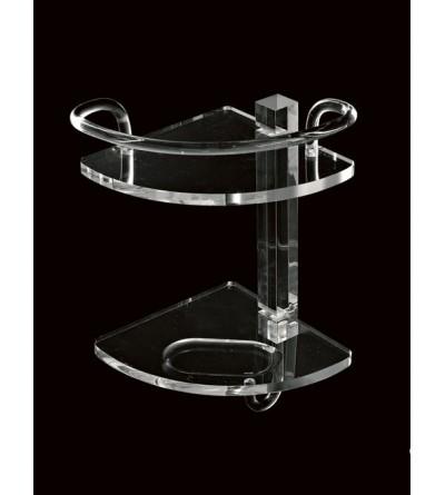 Corner shelf for shower TL.Bath Luce L003