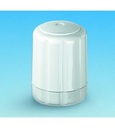 Volante blanco con regulación para válvulas termostatizables Pettinaroli 0760P
