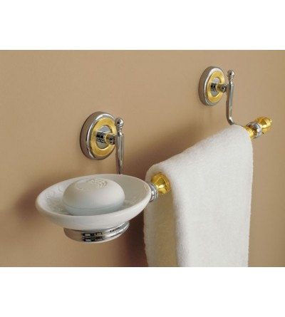 Soap dish with towel holder TL.Bath Queen 6616-6516