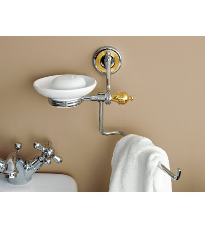 Jabonera con toallero TL.Bath Queen 6618