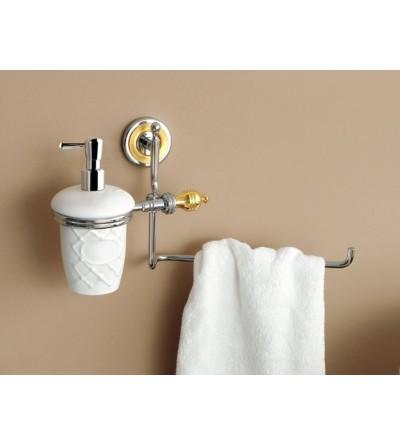 Liquid soap dispenser with towel holder TL.Bath Queen 6628-6528