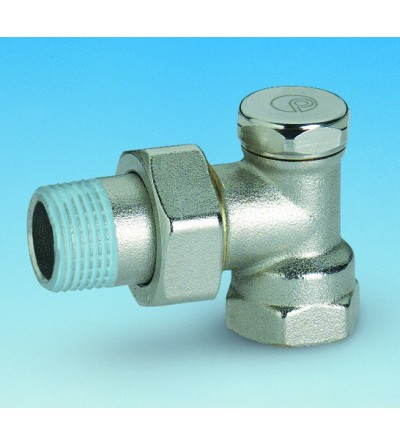 Angle micrometric radiator lockshield valve Pettinaroli 750N