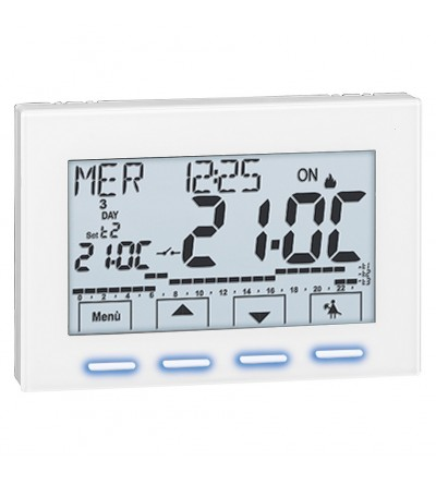 Digital room chrono-thermostat Caleffi 738427
