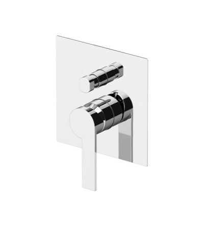 Shower mixer for concealed installation with 2 outlets diverter Gattoni Color 8034