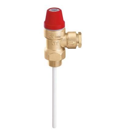 Válvula de seguridad combinada de temperatura y presión Caleffi 309