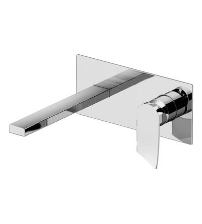 Miscelatore lavabo a parete Gattoni Soffio 8135