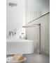 Einhand-Waschtischmischer mit erhöhter Säule Gattoni Soffio 8146