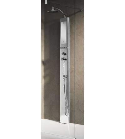 duschpaneel für eck- und wandmontage novellini think 1