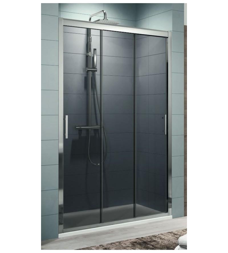 Shower door with 3...