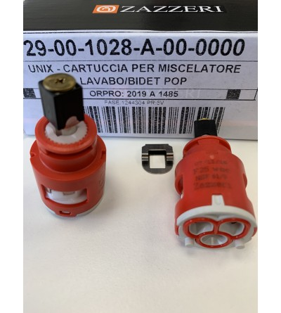 Cartuccia per miscelatore lavabo/bidet serie POP Zazzeri 29001028-A00000