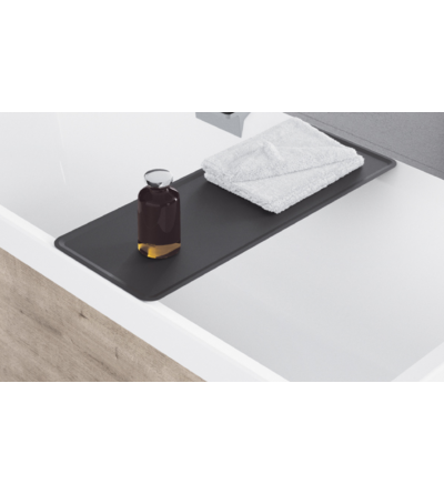 Shelf for bathroom objects novellini diva