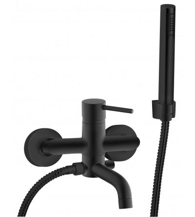 Mezclador de baño externo con set de ducha Piralla Iseo 0SUYO003A19