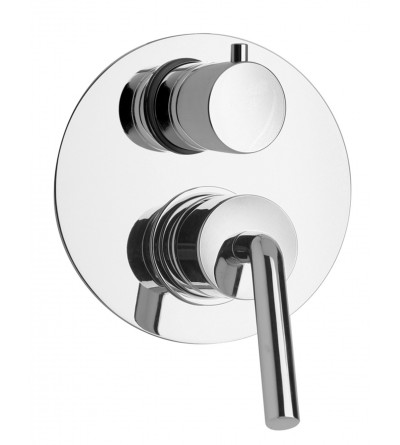 Built-in shower mixer with diverter Piralla Garda 0AS00400A19