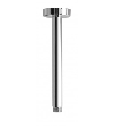 Round shower arm for ceiling installation Damat Pluto