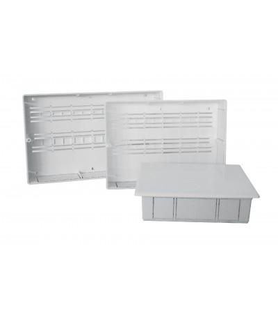 Cassetta in plastica per collettori con kit di fissaggio 320N