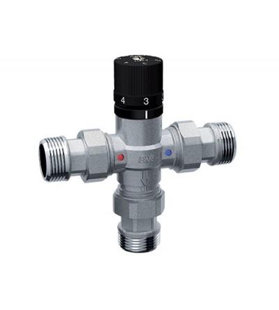 Mezclador termostático con conexiones M Far Rubinetterie 3956