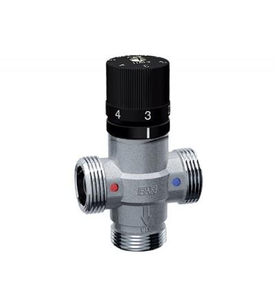 Mezclador termostático con conexión macho Far Rubinetterie 3957