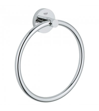 Grohe Essentials towel ring chrome 40365001