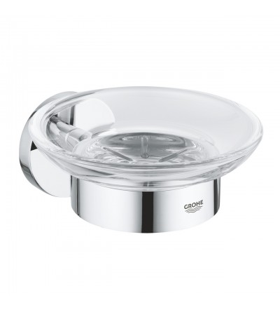 Grohe Essentials soap dish with holder chrome 40444001