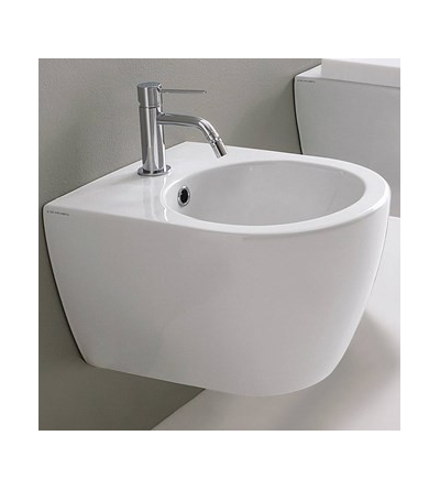 Wall mounted bidet Scarabeo MOON 45 5525