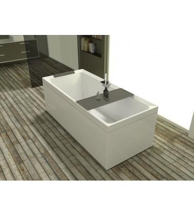 Rectangular bathtub, natural-air version Novellini Divina