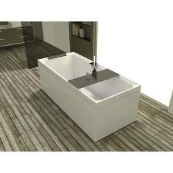 Rectangular bathtub,...