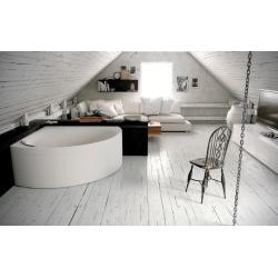 Hydromassage corner bathtub...