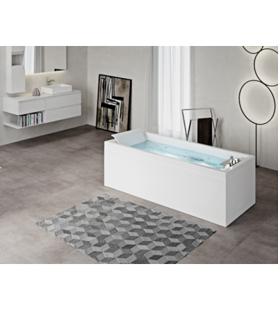 rectangular bath standard NOVELLINI SENSE 3
