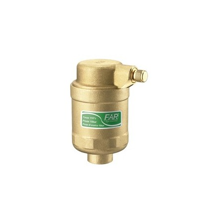Straight air vent valve Far Rubinetterie 2065 - 2066