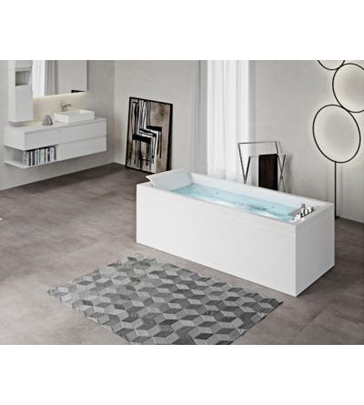 NOVELLINI-rectangular bath SENSE 3 DREAM PLUS