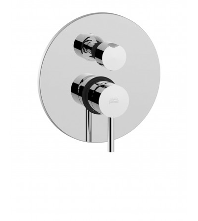 Concealed shower mixer with diverter Paffoni LIGHT EXCLUSIVE EDITION LIG018