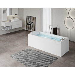 Rectangular tub without...