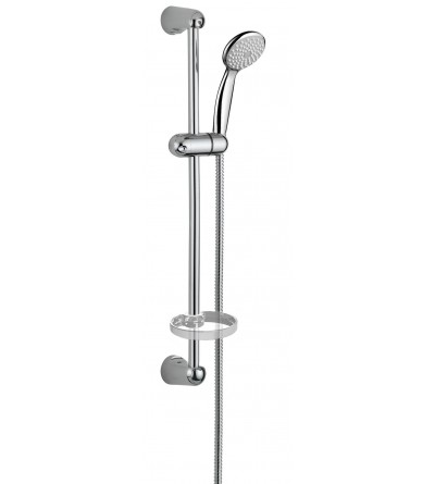 Shower set with sliding rail Damast Economy 2.0