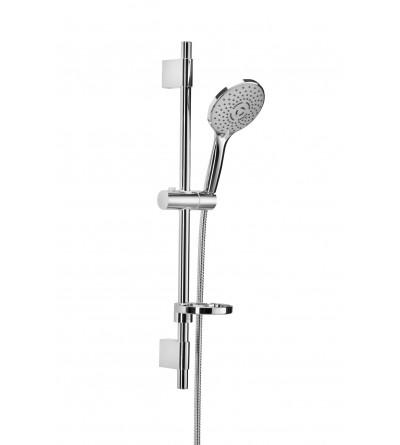 barra de ducha ajustable de acero inoxidable Damast 7cento 14401