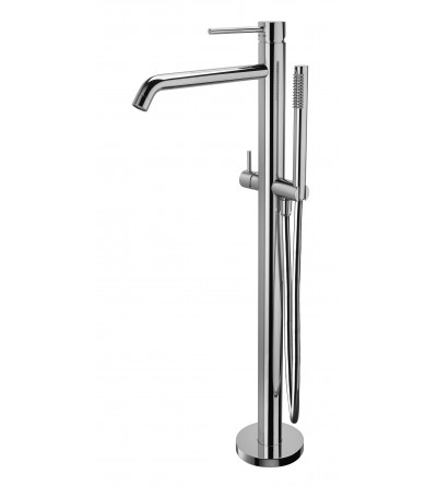 Free-standing bath/shower mixer Paffoni LIGHT EXCLUSIVE EDITION LIG032 LIG032