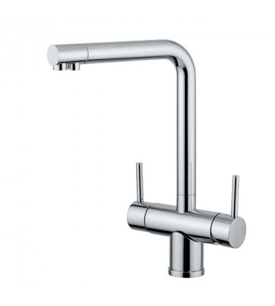 Kitchen Sink Mixer For Water Treatment Quadrodesign 355