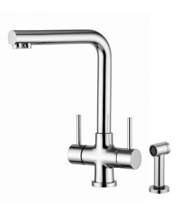 Kitchen Sink Mixer For Water Treatment Quadrodesign 373