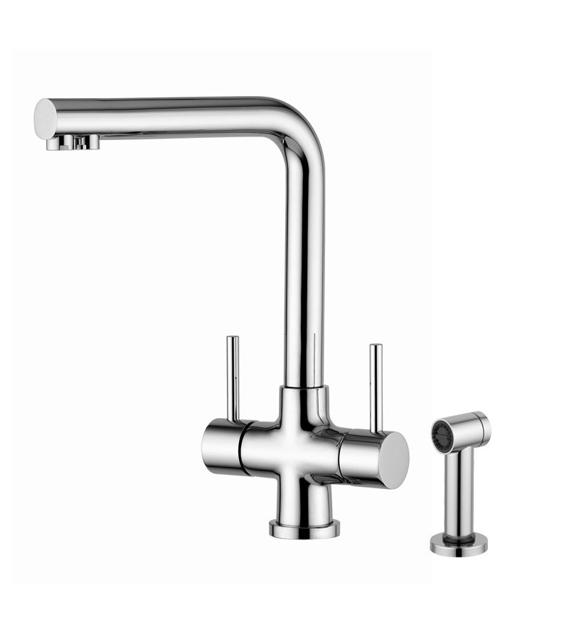 3-way kitchen mixer with...